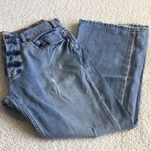 Old navy men's size 36X30 bootcut jeans